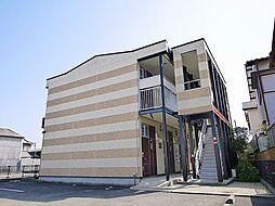 京都府木津川市相楽大徳の賃貸アパートの外観