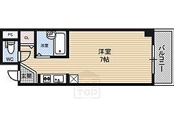 大宝都島ル・グラン[2階]の間取り