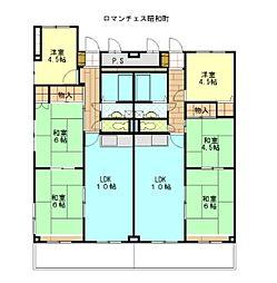 ロマンチェス昭和町[205号室]の間取り