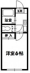 SD津島[1階]の間取り