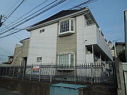 愛媛県松山市桑原3丁目の賃貸アパートの外観