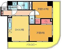 Circolare Ayase[302号室]の間取り
