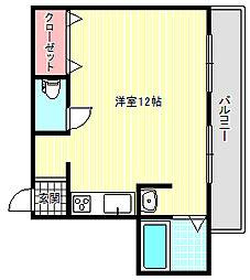 エスポワール白鷺[5階]の間取り