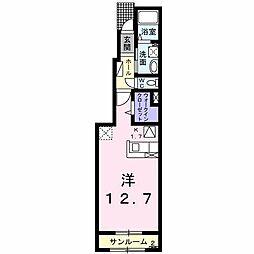 アトール[1階]の間取り