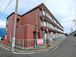 埼玉県草加市稲荷6丁目の賃貸マンションの外観