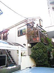 神奈川県川崎市中原区小杉陣屋町2丁目の賃貸アパートの外観