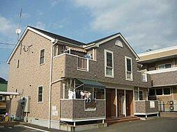 福岡県宗像市くりえいと2丁目の賃貸アパートの外観