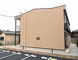 埼玉県さいたま市岩槻区南下新井の賃貸アパートの外観