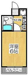 メゾンドシプレ[3階]の間取り