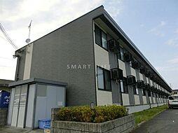 滋賀県高島市安曇川町西万木の賃貸アパートの外観