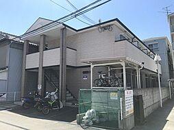 大阪府大阪市住之江区住之江2丁目の賃貸アパートの外観