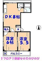 太田ビル[301号室]の間取り