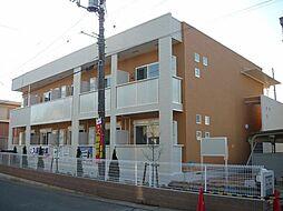 埼玉県桶川市鴨川2丁目の賃貸アパートの外観