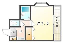 ルパッセURAKAWA[3階]の間取り