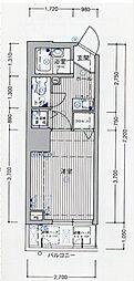タットディナスティ西本町[9階]の間取り