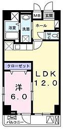 テホン・カーサ[6階]の間取り