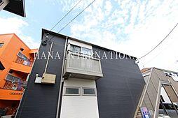 埼玉県草加市谷塚2丁目の賃貸アパートの外観