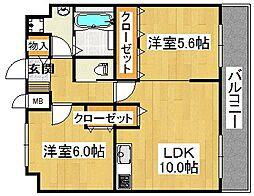 (仮称)スペイサイドK[2階]の間取り