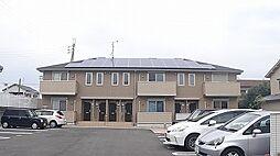 大阪府羽曳野市誉田5丁目の賃貸アパートの外観