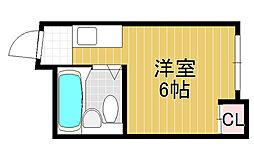 センターヒルアビコ[1階]の間取り