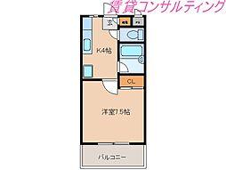 メゾンブローニュ6号棟[3階]の間取り