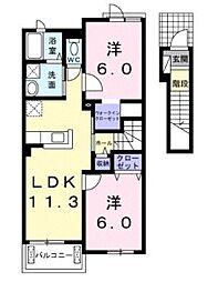 グランドプレミアム[2階]の間取り