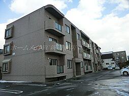 北海道札幌市東区北四十五条東13丁目の賃貸マンションの外観