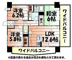 第壱上野マンション[1001号室]の間取り