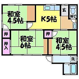 [一戸建] 愛媛県松山市道後町2丁目 の賃貸【愛媛県 / 松山市】の間取り