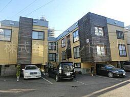 北海道札幌市中央区南五条西24丁目の賃貸アパートの外観