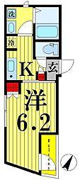 FAIR町屋レジデンス[4階]の間取り