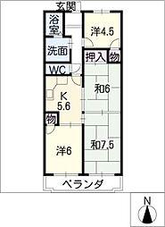 アルト千種[1階]の間取り