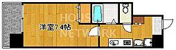 五条高倉Vivre2[504号室号室]の間取り