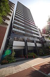 プレサンスタワー難波WEST[8階]の外観