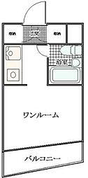 メゾンドマキ舟渡[1階]の間取り