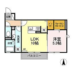 LSY47[302号室]の間取り