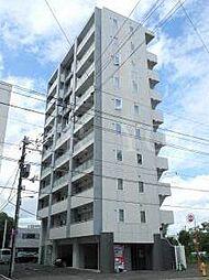 北海道札幌市中央区南十五条西7丁目の賃貸マンションの外観