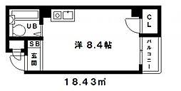 田中ビル[303号室号室]の間取り