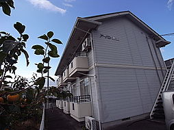 岐阜県岐阜市折立の賃貸アパートの外観