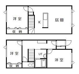 MAISON TANIGUCHI[5号室]の間取り