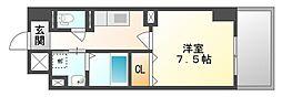 岡山県倉敷市幸町の賃貸マンションの間取り