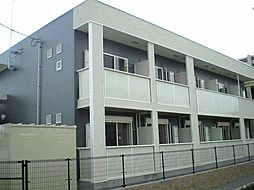 コンフォートスクエア B[1階]の外観