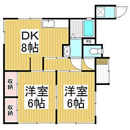 [一戸建] 長野県松本市平田東1丁目 の賃貸【/】の間取り