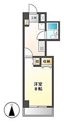 レジデンス千種[8階]の間取り