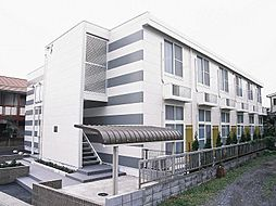 埼玉県川口市南鳩ヶ谷7丁目の賃貸アパートの外観