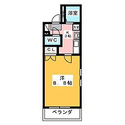 Comfort Place[1階]の間取り