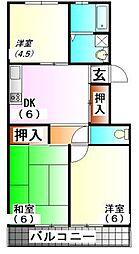 ファーシルマンション[2階]の間取り