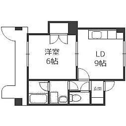 澄川4・3ビル[202号室]の間取り