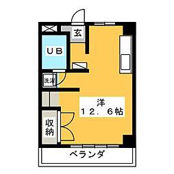 第2澤田シティ[2階]の間取り