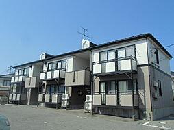 新潟県新潟市東区松園1丁目の賃貸アパートの外観